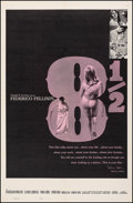 """Movie Posters:Foreign, 8½ (Embassy, 1963). Fine/Very Fine on Linen. One Sheet (27"""" X 41""""). Foreign.. ..."""