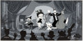 """Animation Art:Limited Edition Cel, """"Showtime"""" Betty Boop and Friends Limited Edition Cel Signed by Shamus Culhane #100/200 (Max Fleischer/King Features Syndicate..."""