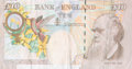 Prints & Multiples, Banksy X Banksy of England. Di-Faced Tenner, 10 GBP Note, 2005. Offset lithograph in colors on paper. 3 x 5-5/8 inches (...