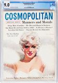 Magazines:Miscellaneous, Cosmopolitan V146#3 Marilyn Monroe Cover (Hearst, 1959) CGC VF/NM 9.0 Off-white to white pages....
