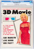 Magazines:Miscellaneous, 3D Movie Magazine V1#1 Marilyn Monroe Cover (Three-D Magazines, 1953) CGC VF+ 8.5 Off-white to white pages....