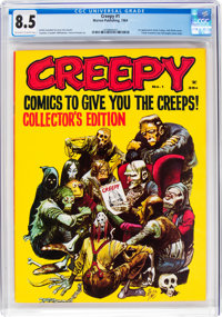 Creepy #1 (Warren, 1964) CGC VF+ 8.5 Off-white to white pages