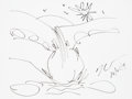 Works on Paper, Jeff Koons (b. 1954). Untitled, 2019. Ink on paper. 9 x 12 inches (22.9 x 30.5 cm). Signed and dated lower right: Jeff...