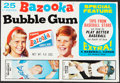 Baseball Cards:Other, 1968 Bazooka Partial Box With Alou, Lefebvre, Hunter & Freehan....