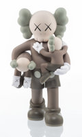 Collectible, KAWS (b. 1974). Clean Slate (Brown), 2018. Painted cast vinyl. 14 x 8 x 8 inches (35.6 x 20.3 x 20.3 cm). Open Edition. ...