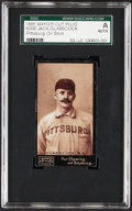 Baseball Cards:Singles (Pre-1930), 1895 N300 Mayo's Cut Plug Jack Glasscock (Pittsburg On Shirt) SGC Authentic....