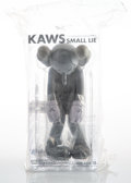 Collectible, KAWS (b. 1974). Small Lie (Grey), 2017. Painted cast vinyl. 11 x 5 x 4-1/2 inches (27.9 x 12.7 x 11.4 cm). Open Edition...