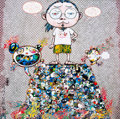 Prints & Multiples, Takashi Murakami (b. 1962). A Space of Philosophy, 2013. Offset lithograph in colors on wove paper. 19-5/8 x 19-5/8 inch...