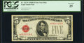 Small Size:Legal Tender Notes, Fr. 1527* $5 1928B Mule Legal Tender Star Note. PCGS Very Fine 25.. ...