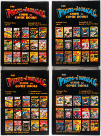 The Photo-Journal Guide to Comic Books Vol. 1 and 2 Group (Gerber Publishing, 1989).... (Total: 6 Items)