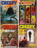 Magazines:Horror, Creepy Group of 53 (Warren, 1965-82) Condition: Average FN/VF.... (Total: 53 Items)