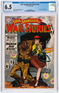 Star Spangled War Stories #85, 87, and 89 CGC-Graded Group (DC, 1959-60).... (Total: 3 )