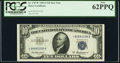 Small Size:Silver Certificates, Fr. 1707* $10 1953A Silver Certificate Star. PCGS New 62PPQ.. ...
