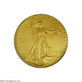 Proof Saint-Gaudens Double Eagles: , 1908 $20 Motto PR65 PCGS....