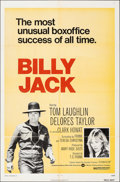 """Movie Posters:Action, Billy Jack & Other Lot (Warner Bros., R-1973). Folded, Very Fine-. One Sheets (2) (27"""" X 41""""). Action.. ... (Total: 2 Items)"""