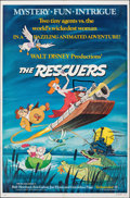 """Movie Posters:Animation, The Rescuers & Other Lot (Buena Vista, 1977). Folded, Overall: Very Fine-. One Sheets (4) (27"""" X 41"""") Paul Wenzel Artwork. A... (Total: 4 Items)"""