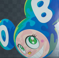 Takashi Murakami (b. 1962) Melting DOB A, 1999 Offset lithograph in colors on satin wove paper 27