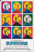 """Movie Posters:Documentary, Superstar: The Life and Times of Andy Warhol (Aries Films, 1991). Rolled, Very Fine-. One Sheet (27"""" X 41"""") SS. Documentary...."""