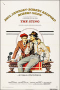 "Movie Posters:Crime, The Sting (Universal, 1973). Folded, Fine. One Sheet (27"" X 41"") Richard Amsel Artwork. Crime.. ..."