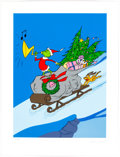 """Animation Art:Seriograph, """"A Tale of Two Grinches: The Best of Grinches"""" How the Grinch Stole Christmas Limited Edition Art Serigraph #40/27..."""