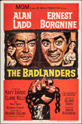 """Movie Posters:Western, The Badlanders & Other Lot (MGM, 1958). Folded, Overall: Fine/Very Fine. One Sheets (4) (27"""" X 41""""). Western.. ... (Total: 4 Items)"""