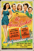 """Movie Posters:Musical, Hi, Good Lookin'! (Universal, 1944). Folded, Fine/Very Fine. One Sheet (27"""" X 41""""). Musical.. ..."""