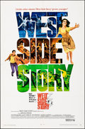 """Movie Posters:Academy Award Winners, West Side Story (United Artists, R-1968/1961). Folded, Overall: Fine/Very Fine. One Sheet (27"""" X 41""""), Lobby Card Set of 8 (... (Total: 15 Items)"""