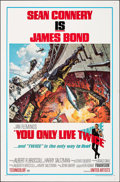"""Movie Posters:James Bond, You Only Live Twice (United Artists, 1967). Folded, Very Fine. One Sheet (27"""" X 41""""). Frank McCarthy and Robert McGinnis Art..."""