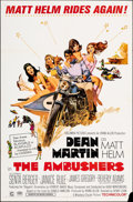"""Movie Posters:Action, The Ambushers (Columbia, 1967). Folded, Fine/Very Fine. One Sheet (27"""" X 41"""") Robert McGinnis Artwork. Action.. ..."""
