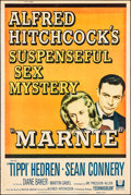 Movie Posters:Hitchcock, Marnie (Universal, 1964). Rolled, Fine. Poster (40...
