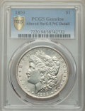 1893 $1 -- Altered Surfaces -- PCGS Genuine. Unc Details. Mintage 389,792. ...(PCGS# 7220)