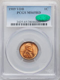 1909 1C VDB MS65 Red PCGS. CAC. PCGS Population: (6683/2967). NGC Census: (2992/1436). CDN: $115 Whsle. Bid for NGC/PCGS...