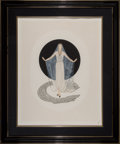 Works on Paper, Erté (Romain de Tirtoff) (Russian/French, 1892-1990). June Brides (two works), 1985. Embossed serigrap...
