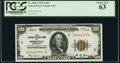 Small Size:Federal Reserve Bank Notes, Fr. 1890-I $100 1929 Federal Reserve Bank Note. PCGS Choice New 63.. ...