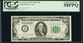 Small Size:Federal Reserve Notes, Fr. 2155-I $100 1934C Mule Federal Reserve Note. PCGS Choice About New 58PPQ.. ...