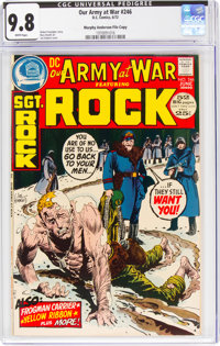 Our Army at War #246 Murphy Anderson File Copy (DC, 1972) CGC NM/MT 9.8 White pages