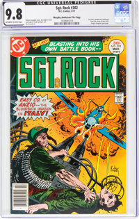 Sgt. Rock #302 Murphy Anderson File Copy (DC, 1977) CGC NM/MT 9.8 Off-white to white pages