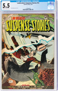 Golden Age (1938-1955):Crime, Lawbreakers Suspense Stories #14 (Capitol Stories/ Charlton, 1953) CGC FN- 5.5 Cream to off-white pages....