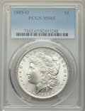 1885-O $1 MS65 PCGS. PCGS Population: (21466/3210). NGC Census: (29853/5303). MS65. Mintage 9,185,000. ...(PCGS# 7162)
