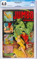 Golden Age (1938-1955):Miscellaneous, Jumbo Comics #161 (Fiction House, 1952) CGC VG 4.0 Cream to off-white pages....