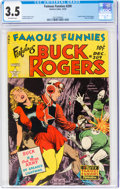 Golden Age (1938-1955):Science Fiction, Famous Funnies #209 (Eastern Color, 1953) CGC VG- 3.5 Off-white pages....