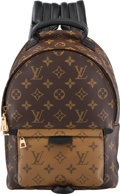 "Luxury Accessories:Bags, Louis Vuitton Reverse Monogram Coated Canvas Palm Spring Backpack PM. Condition: 1. 8"" Width x 12"" Height x 4"" Depth..."