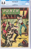 Golden Age (1938-1955):Crime, Punch Comics #18 (Chesler, 1946) CGC VG- 3.5 Off-white pages....