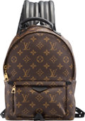 "Luxury Accessories:Bags, Louis Vuitton Monogram Coated Canvas Palm Spring Backpack PM. Condition: 2. 8.5"" Width x 12.5"" Height x 4.5"" Depth. ..."
