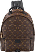 """Luxury Accessories:Bags, Louis Vuitton Monogram Coated Canvas Palm Spring Backpack MM. Condition: 2 . 12"""" Width x 14.5"""" Heigth x 4.5"""" Depth. ..."""