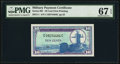 Military Payment Certificates:Series 681, Series 681 10¢ First Printing PMG Superb Gem Unc 67 EPQ.. ...