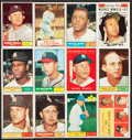 Baseball Cards:Sets, 1961 Topps Baseball Near Set (575/587). ...
