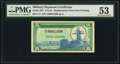 Military Payment Certificates:Series 681, Series 681 5¢ Replacement First Printing PMG About Uncirculated 53.. ...