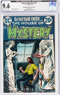 House of Mystery #215 Murphy Anderson File Copy (DC, 1973) CGC NM+ 9.6 Off-white to white pages