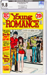 Young Romance #193 Murphy Anderson File Copy (DC, 1973) CGC NM/MT 9.8 Off-white to white pages